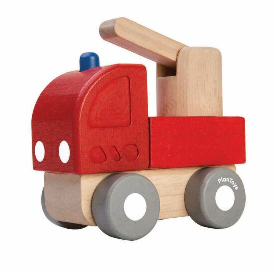 PlanToys mini tűzoltóautó