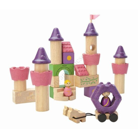 plan toys építőkocka szett