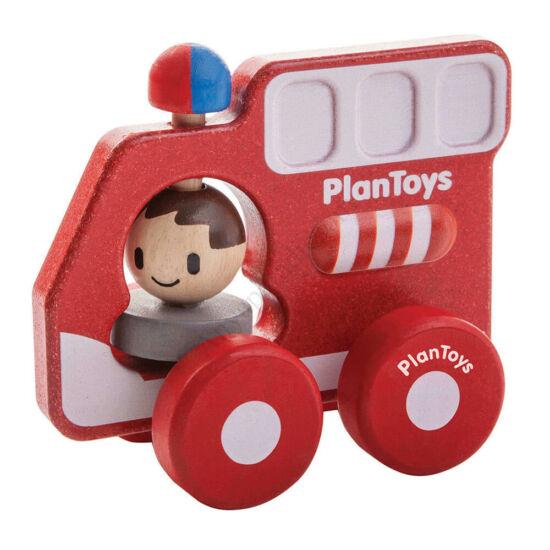 PlanToys tűzoltóautó