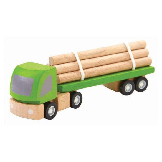 PlanToys faszállító autó