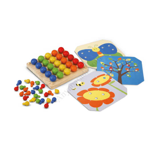 plantoys peg board kepkirako