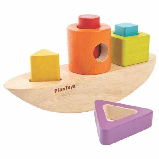 Plan Toys formavalogato hajo