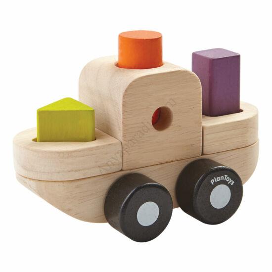 Plan Toys összerakó hajó
