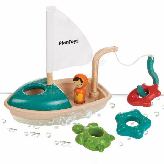 Plan Toys fa activity hajó