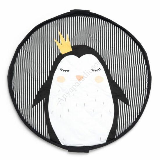 Play&go soft játéktároló zsák 2 az 1-ben, pingvin