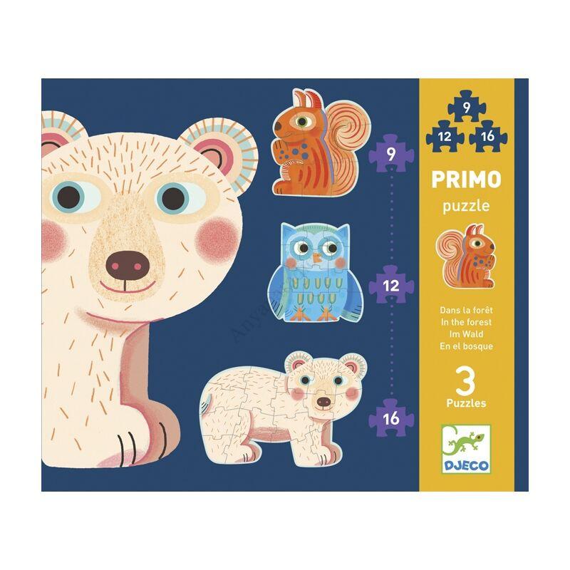 djeco primo puzzle az erdoben