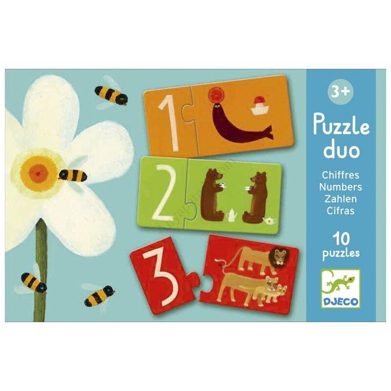 djeco parosito puzzle szamok