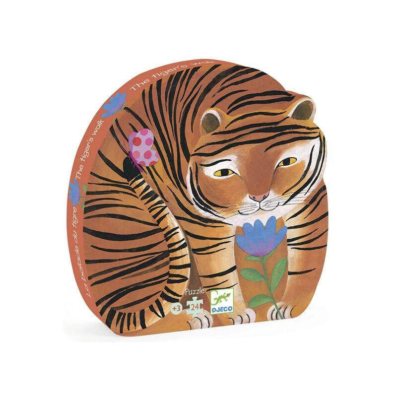 djeco puzzle tigris