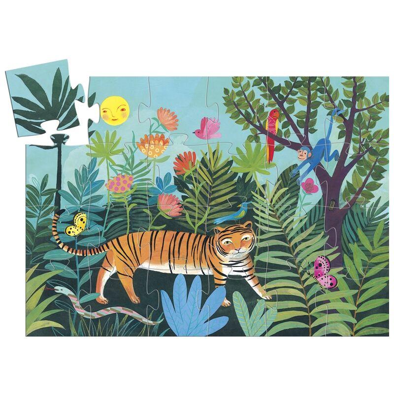 Djeco Formadobozos puzzle a tigris sétája kifutó termék