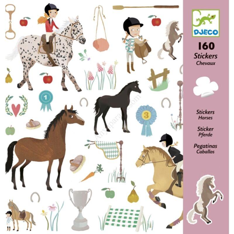 Djeco matricák, lovak