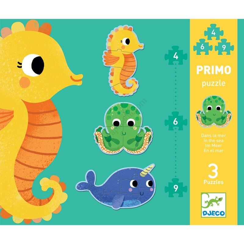 Djeco Primo puzzle - A tengerben