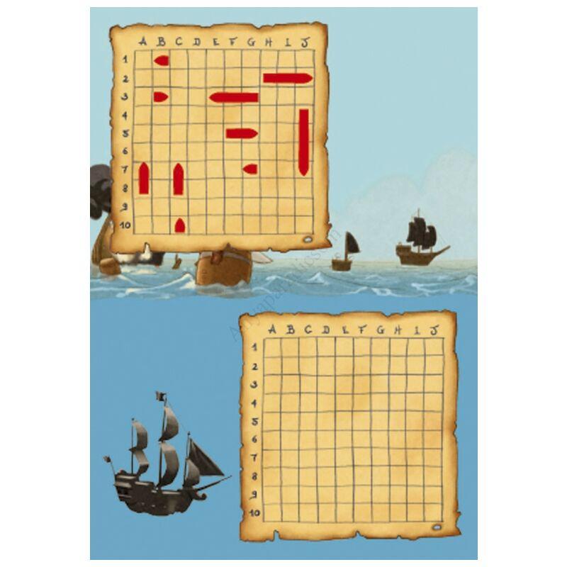 Djeco mini utazós játék, hajócsata
