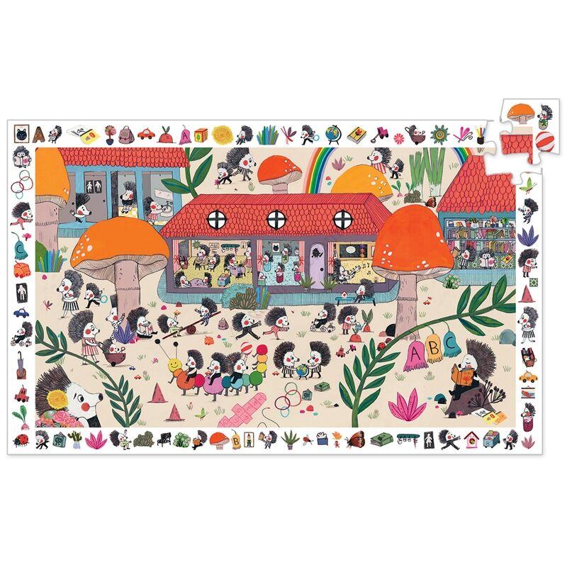 djeco megfigyelteto puzzle