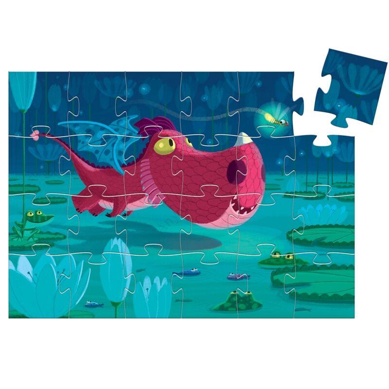 djeco puzzle cuki sarkany