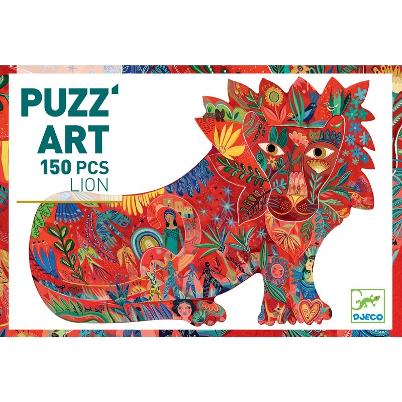 djeco muvesz puzzle oroszlan