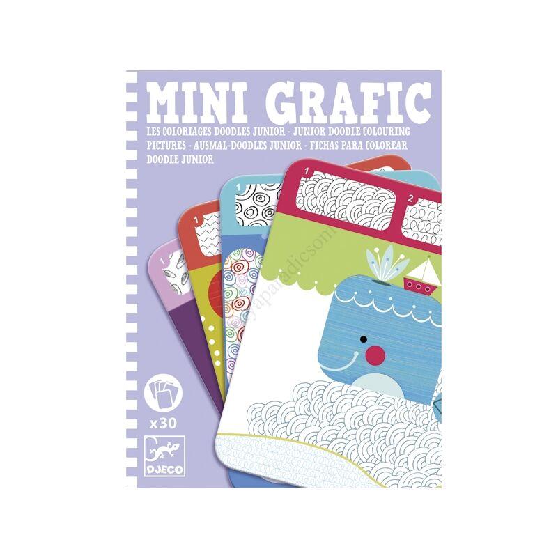 Djeco mini színes minták utazós játék - kifutó termék