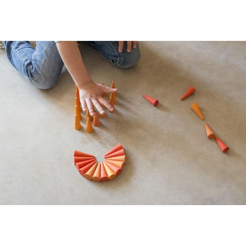 grapat mandala narancssarga kup