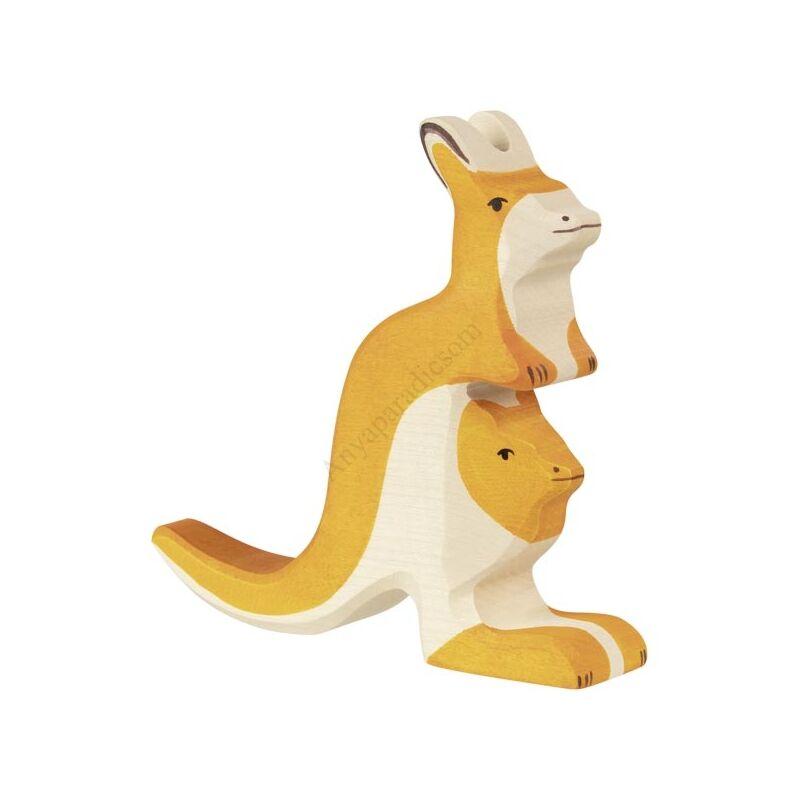 holztiger kenguru