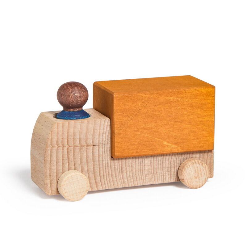 lubulona narancssarga teherauto