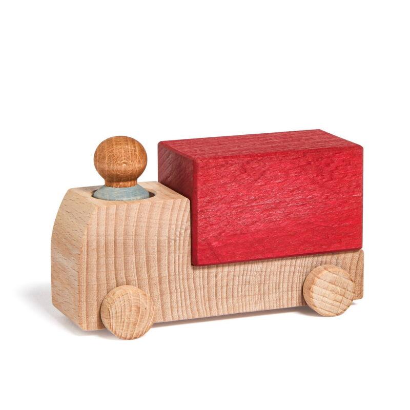 lubulona piros teherauto