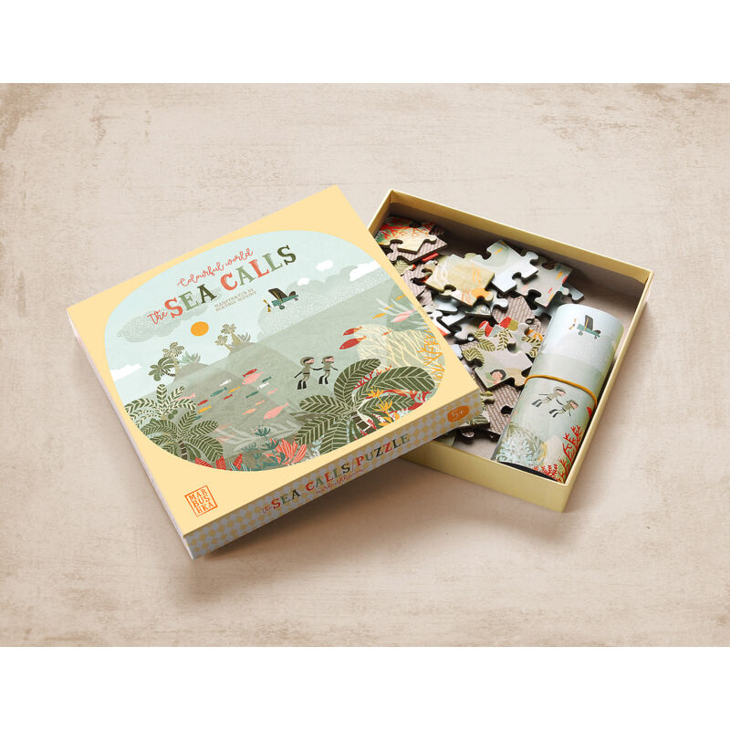 Marbushka Hív a tenger puzzle kifutó termék