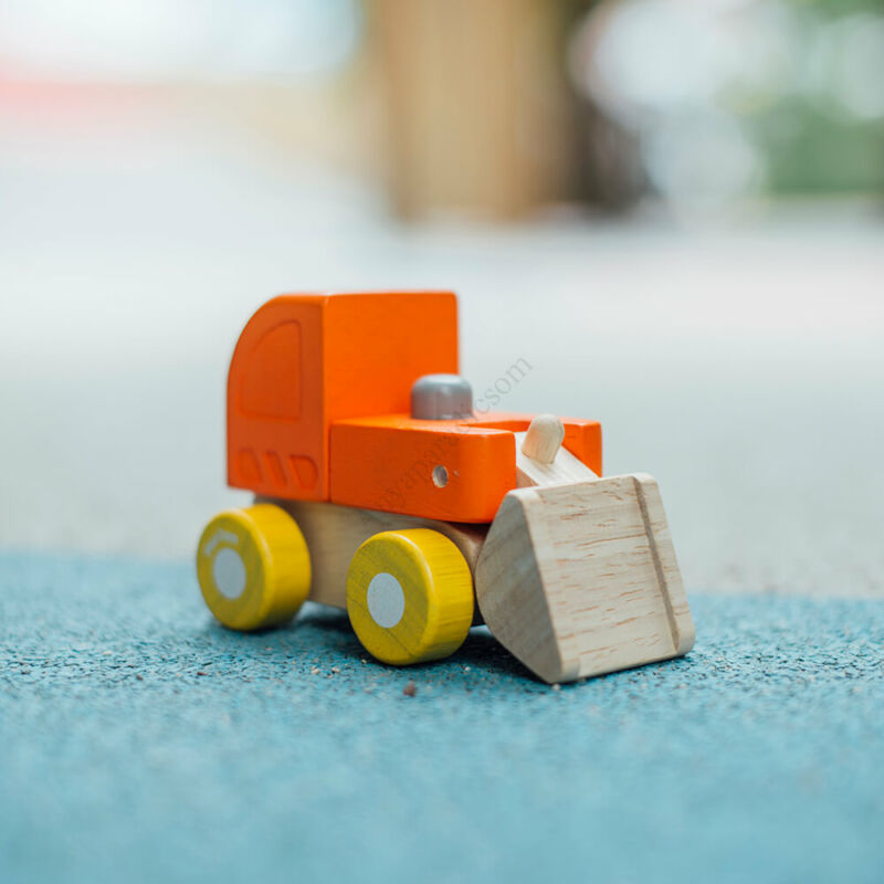 PlanToys mini buldózer kifutó termék