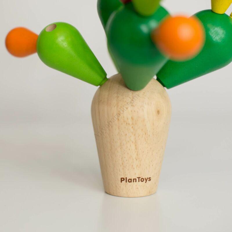 plan toys egyensúlyozó kaktusz