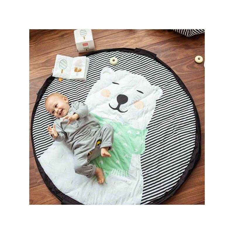 Play&go soft játéktároló zsák 2 az 1-ben, jegesmedve